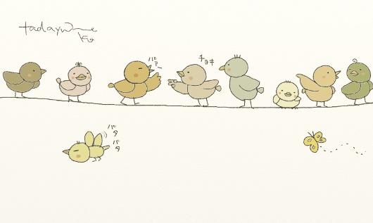 小鳥さんのイラスト
