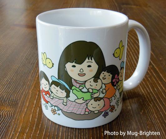 似顔絵マグカップ☆