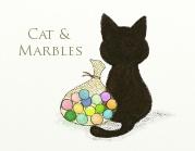 猫ちゃんとビー玉
