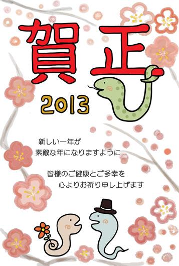 2013☆巳年