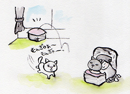 久々に筆ペンを使って描きました〜